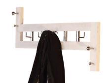 Wandgarderobe Hakenleiste Garderobenleiste Garderobenhaken Garderobe Haken Weiß