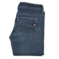 Diesel MUZE women ladies jeans size W30 L32 Dark blue ITALY Authentic