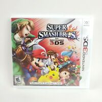 Super Smash Bros for Nintendo 3DS, All Star Nintendo Characters, NEW SEALED