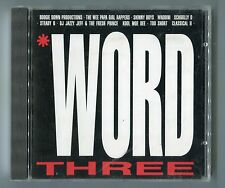 teldec cd sampler ©1988 WORD - VOLUME 3 jazzy jeff WHODINI skinny boys TOO SHORT