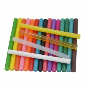 Melt Glue Stick Clear Colorful Sealing Wax Envelope Invitation Stamp 10Pc 7x100m
