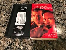 The Ghost And The Darkness VHS! 1996 Thriller! See) Alexander & Batman Forever