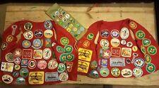 Vintage Boy Scout BSA Lot 1950s, 60s and 70s Patches, Felt, Jewelry Ect. Antique