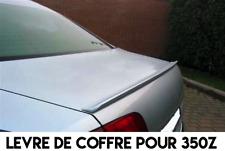 LAME COFFRE SPOILER LEVRE AILERON pour NISSAN 350z 2004-09 CABRIOLET 3.5 V6 Z33
