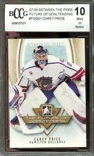 2007-08 between the pipes fog #fogo1 CAREY PRICE montreal canadiens BGS BCCG 10