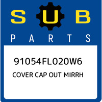 91054FL020W6 Subaru Cover cap out mirrh 91054FL020W6, New Genuine OEM Part