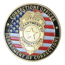 Corrections officer Department of Corrections GP Challenge coin 1415#