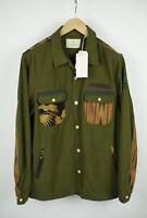 UVP 159 Scotch & Soda Sun Up Herren M Palme Azteken Muster Jacke 6961 MM