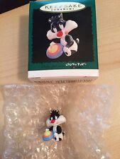 Baby Sylvester- Looney Tunes- Miniature Hallmark Ornament