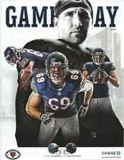 2014 Detroit Lions at Chicago Bears Football Program Jared Allen cover