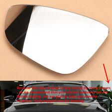 Glass Lens 12-18 *Passat  Left Driver Mirror Fits 09-17 VW CC w//Silicone EOS