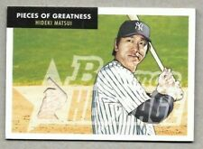 2007 Bowman Heritage Pieces of Greatness Hideki Matsui New York Yankees Bat