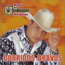 Mario El Cachorro Delgado Corridos Bravos  CD New