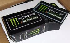 "MONSTER ENERGY NASCAR CUP SERIES~BOX OF 100 STICKERS~5 INCH long x 2.50 "" tall"