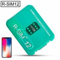 RSIM 12+ 2019 R-SIM Nano Unlock Card For iPhone XS/X/8/7/6 and Plus iOS12.3 Vv