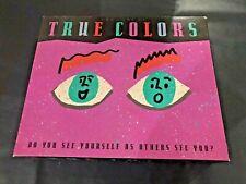 True Colors GAME - Milton Bradley - 1990 - complete - excellent condition