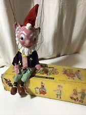 Pelham Puppets - Big Ears  Enid Blyton  Original Box  Hand Made In England