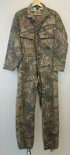 Vintage Liberty Camo Hunting REAL TREE COVERALLS Mens S M Unlined Suit Good Used