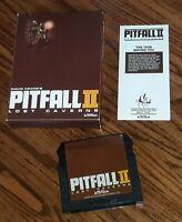 Atari 5200: Pitfall 2 II Activision video game cartridge w ORIGINAL BOX & MANUAL