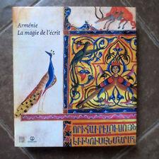Arménie. La Magie de L'écrit- C. Mutafian; ARMENIAN writing culture; Manuscripts