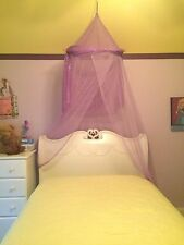 BED CANOPY AND SCREEN PURPLE COLOR 3C4G THREE CHEERS FOR GIRLS