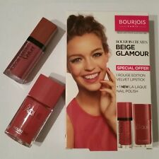 Rossetto Bourjois Rouge Edizione Velluto 07 e la Pigmento Smalto Set di 07