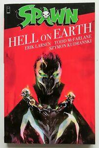 Spawn Hell On Earth Larsen McFarlane Kudranski Image Graphic Novel Comic Book