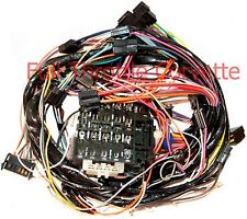 1977 Early Corvette Dash Wiring Harness for Vettes with Manual Transmission