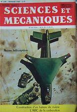 Zeitschrift Sciences und Mechaniken Kein 249 De 1967 Flugzeug Hubschrauber Pearl
