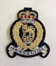 AGC Blazer Badge, Embroidered, Jacket, Army, Military, Adjutant General Corps