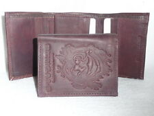 CINCINNATI BENGALS    Leather TriFold Wallet     NEW     dkb z+