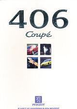 1998 Peugeot 406 Coupe Original Dutch Sales Brochure