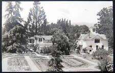 Santa Rosa CA~1930's BURBANK GARDEN  RPPC