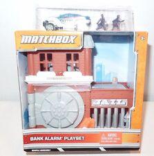 MATCHBOX BANK ALARM JAIL PLAYSET POLICE CAR TOY TRAVEL SIZE IMAGINATION NIB