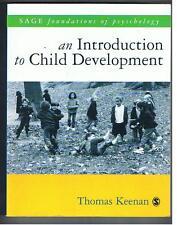 Keenan - AN INTRODUCTION TO CHILD DEVELOPMENT - A Sage Textbook - 2002 PB