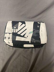 Nike Shoe Box Bag Air Logo Black White Sneaker Travel Bag Zip RARE