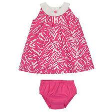 NWT CARTER's Zebra print pink girl baby DIAPER cover dress sz 9 months