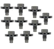 For Ford Lobo F53 Lincoln Navigator Set of 10 Automatic Trans Drain Plug M10 1.5