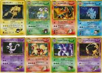 JAPANESE Pokemon cards. Gym Challenge RARE HOLO cards (Charizard, Venusaur etc)