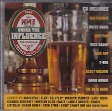 NME UNDER THE INFLUENCE CD-2000 Various, Sex Pistols, The Beta Band T-Rex Bowie.