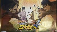 NARUTO SHIPPUDEN ULTIMATE NINJA STORM 4 Game Promo Poster Exclusive Rare