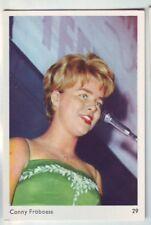 carte gum card portrait de Conny Froboess numero 29 de la serie