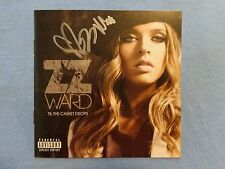 ZZ Ward Signed Autographed CD Cover/Jacket A