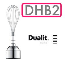 Dualit DHB2 Accesorio de globo Whisker Mezclador Batidor Beat Giratorio De Mano Cocinar Nuevo