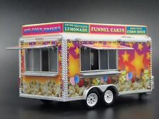 Concession Trailer Candy Apple 1:64 Scale Collectible Diorama Diecast Model
