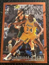 1997 Toops Foundations Shaquille Oneal