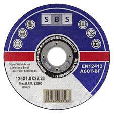50 SBS Trennscheiben 125 x 1 INOX Edelstahl Metall Stahl Flexscheiben Extradünn