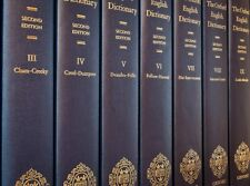 THE OXFORD ENGLISH DICTIONARY (OED2) 20 VOLUME SET CHINESE SILK BINDING EDITION