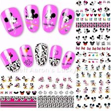 12 Pieces Mickey cartoon mouse water transfer nail art decoration sticker decals