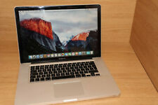 """Apple MacBook PRO A1286 L 2008 15.4"""" 2.66GHZ 4GB 320GB HDD 9400M OSX10.11 #17"""